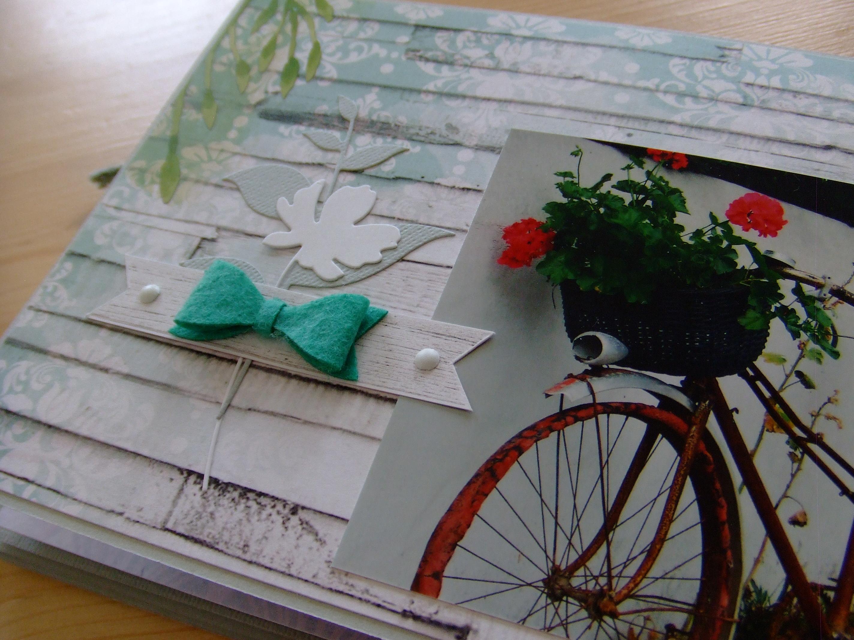 Vente en kit Un p'tit brin de Bohême mini-album scrap scrapbooking couleurs-en-folie papiers scrap-plaisir attrape-rêve