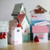 Tutoriel calendrier de l'Avent maisonnettes Couleurs en Folie tuto Noël fêtes de fin d'année Avent décor décorations de Noël loisirs créatifs