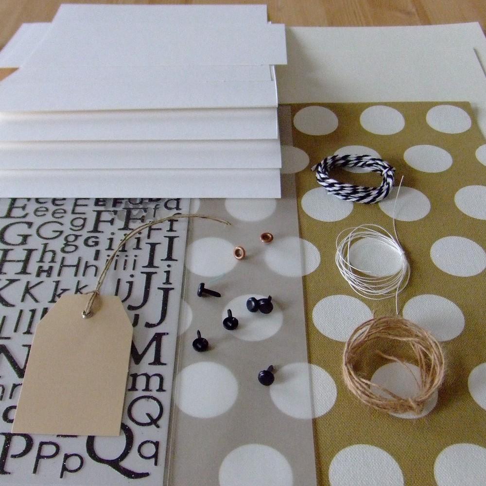 Kit structure En reportage sur la plage mini-album scrap scrapbooking couleurs-en-folie mariage naissance voyage photographie