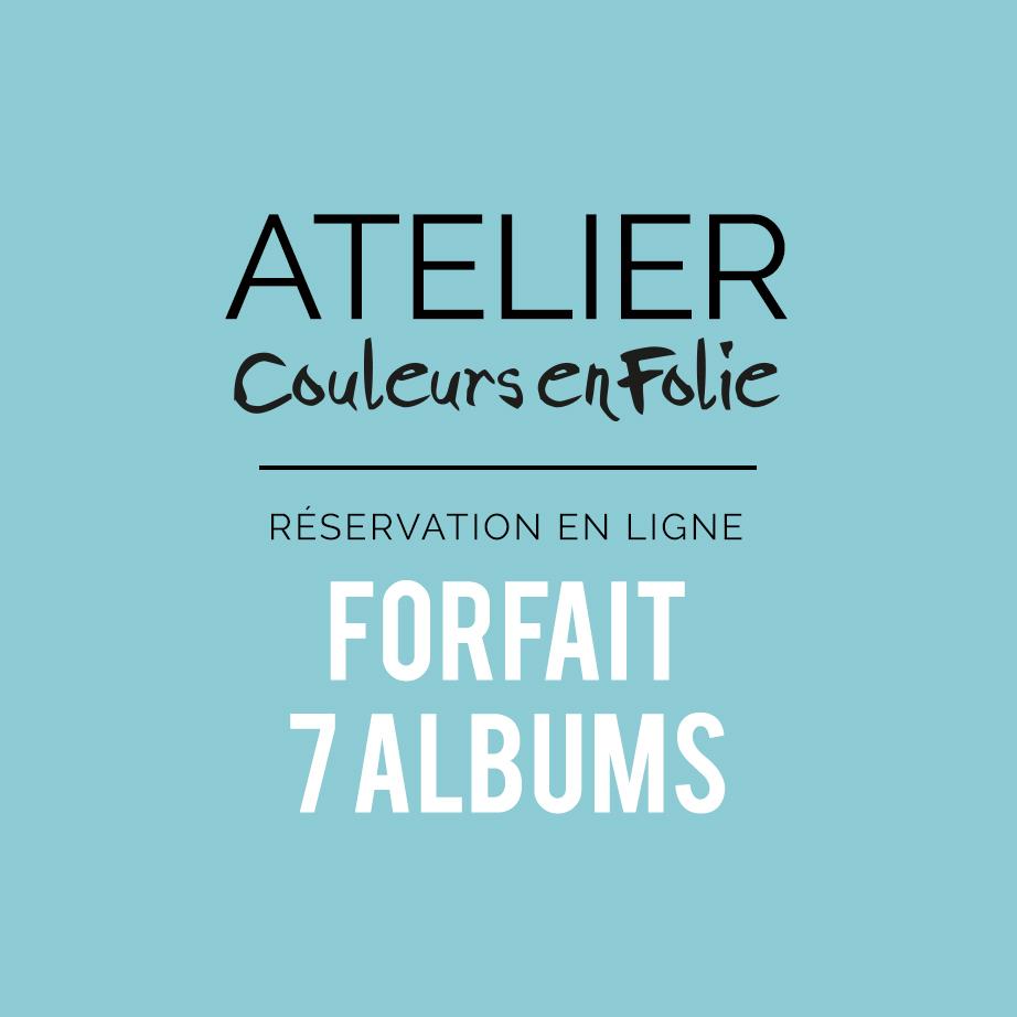 Forfait annuel ateliers scrap 7 mini-albums Project-life home-déco scrapbooking cartonnage couleurs-en-folie isabelle-lafolie marcq-en-baroeul loisirs créatifs