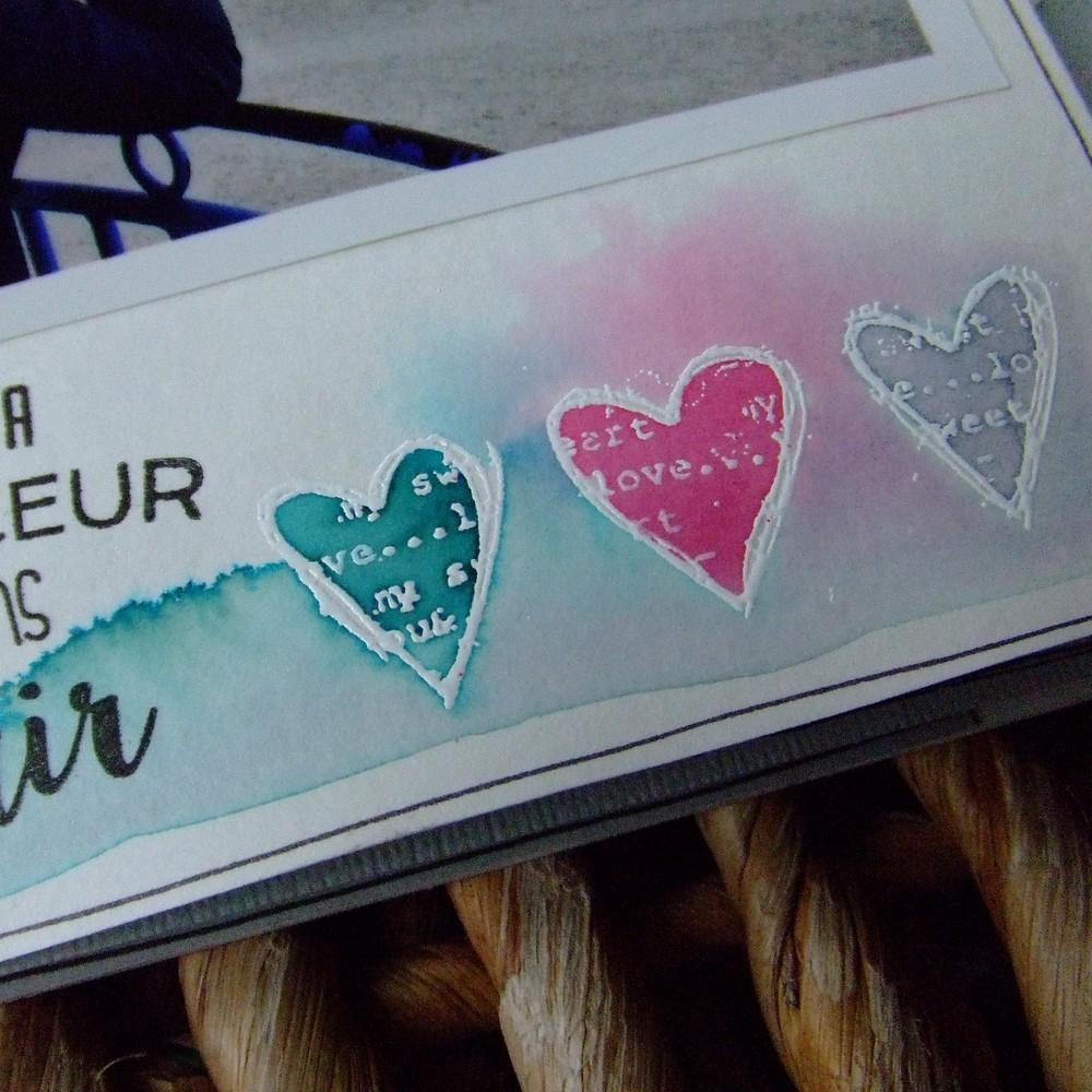 Tutoriel mini-album Bonheur en famille 5 scrapbooking scrap Couleurs-en-folie aquarelle crème de wepam pochoirs tuto