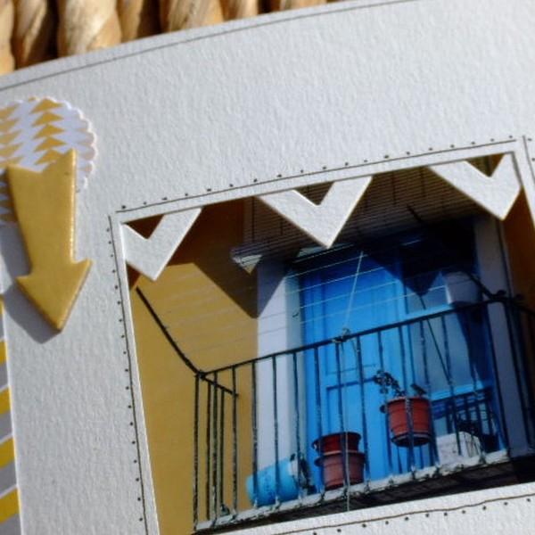 Tutoriel mini-album Souvenirs en couleurs 5 scrapbooking scrap Couleurs-en-folie encres couleurs tuto mini-albums album photos enfants vacances voyage