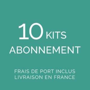 Abonnement 10 kits FDP