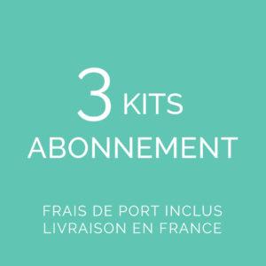 Abonnement 3 kits FDP