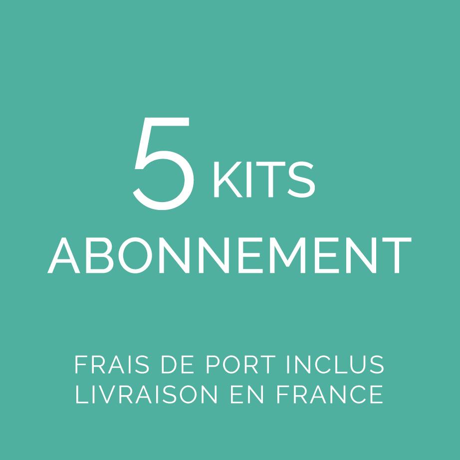 Abonnement 5 kits FDP