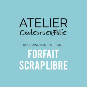 Forfait annuel ateliers Scrap Libre Project-life home-déco scrapbooking cartonnage couleurs-en-folie isabelle-lafolie marcq-en-baroeul loisirs créatifs