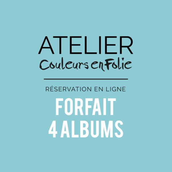 Atelier scrap 4 mini albums