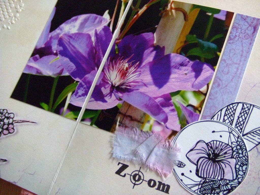 Tutoriel mini-album Ô Merveille mini-album scrap scrapbooking kits couleurs-en-folie tuto tutoriel scrap-plaisir encres tampons nature aquarelle isabelle-lafolie