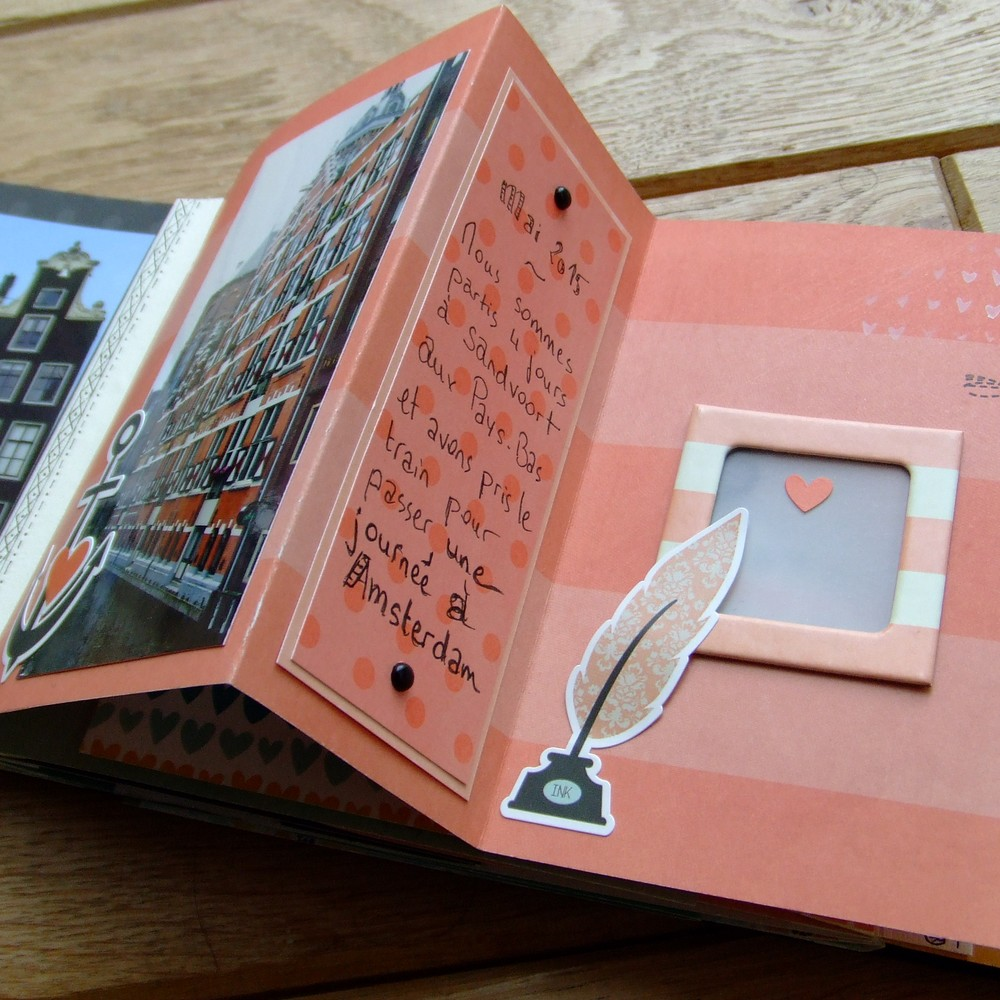 Kit Loving This 10 mini-album scrap scrapbooking couleurs-en-folie album déstructuré doodling kit