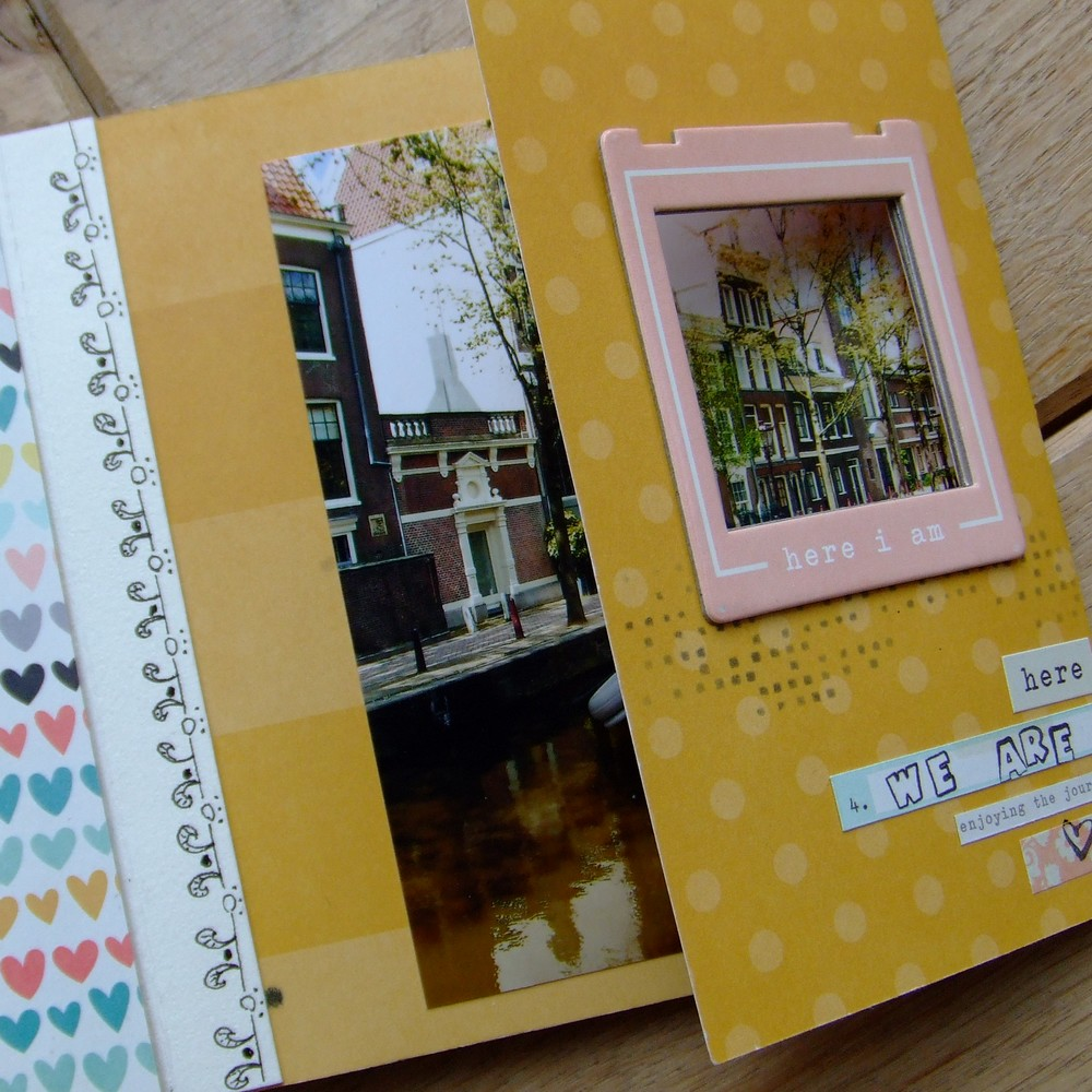 Kit Loving This mini-album scrap scrapbooking couleurs-en-folie album déstructuré doodling kit