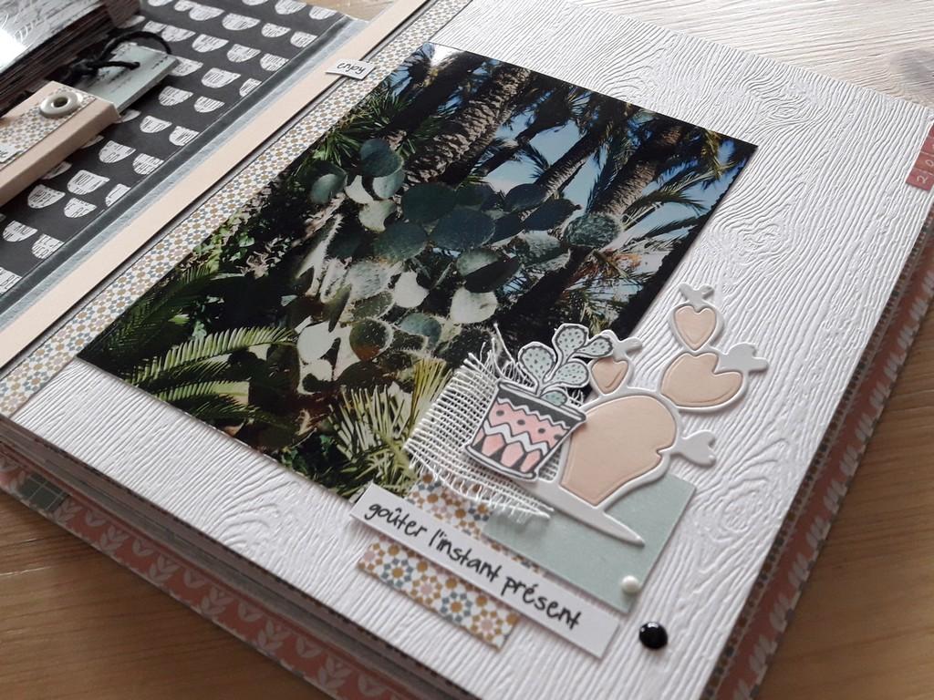 Crop à Lagnieu le 8 avril 2017 association Scrap'Ensemble les-ateliers-de-couleurs-en-folie isabelle-lafolie couleurs-en-folie scrap scrapbooking mini-album crop cropping Lyon Bourg-en-Bresse collection-de-papiers-Kesi'Art