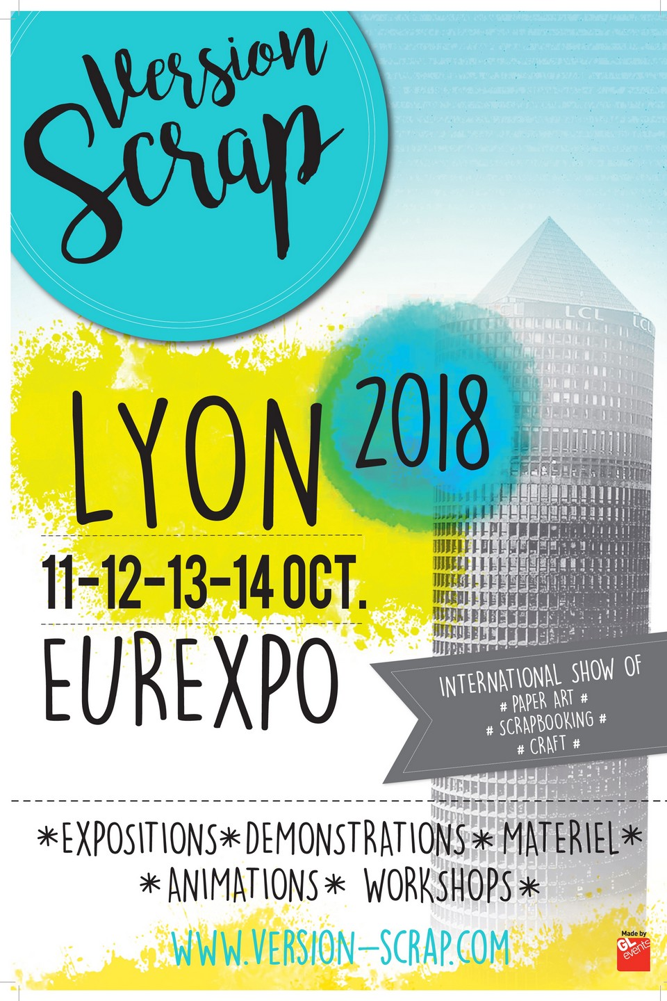 salon Version Scrap Lyon 2018 diy salon scrap scrapbooking les-kits-de-couleurs-en-folie kits mini-albums