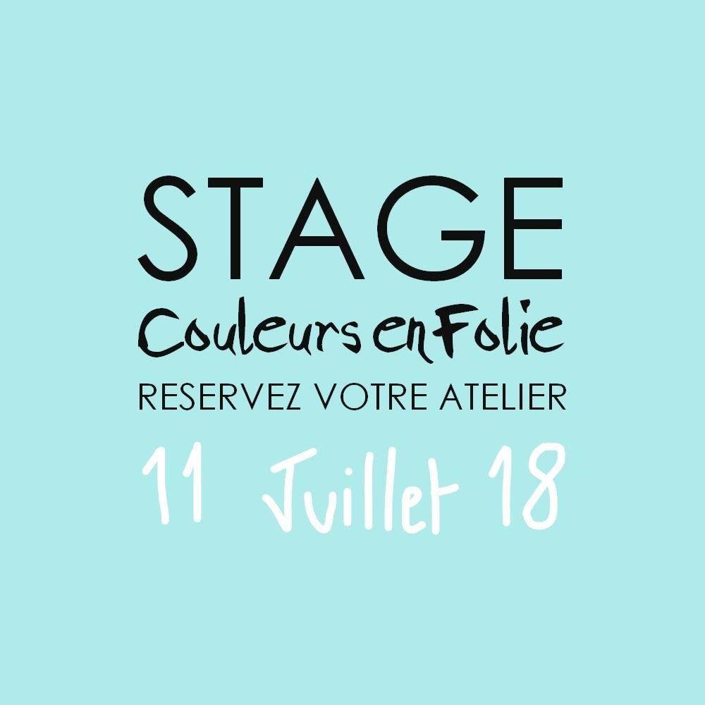 Stage vacances le 11 juillet 2018 atelier scrap scrapbooking home-deco couleurs-en-folie isabelle-lafolie lille marcq-en-baroeul stage vacances été 2018 diy