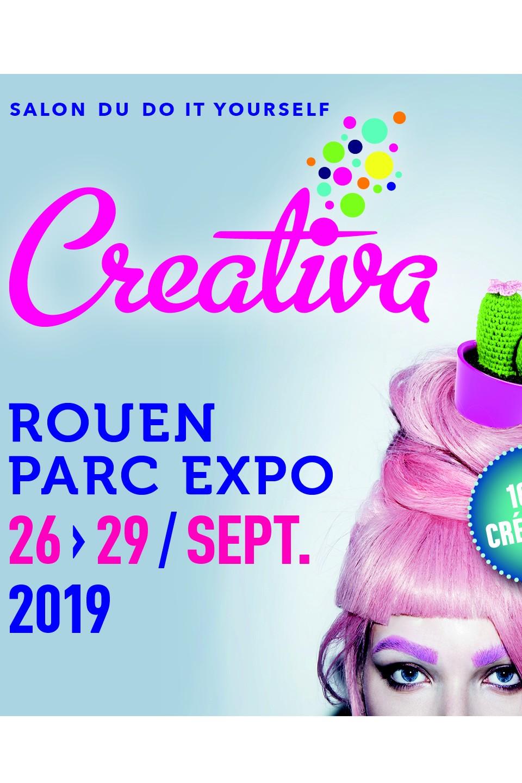 Salon Creativa Rouen salon scrap scrapbooking couleurs-en-folie kit kits mini-albums scrap-book parc expo rouen du 26 au 29 septembre 2019