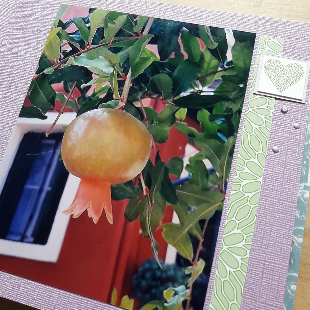 Kit mini-album Une sacrée belle journée scrap scrapbook scrapbooking album photos souvenirs vacances kit diy aquarelle lin les-kits-de-couleurs-en-folie couleurs-en-folie ateliers tampons encres