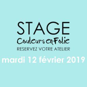 Stage vacances le 12 février 2019 atelier scrap scrapbooking home-deco couleurs-en-folie isabelle-lafolie lille marcq-en-baroeul stage vacances 2019 diy