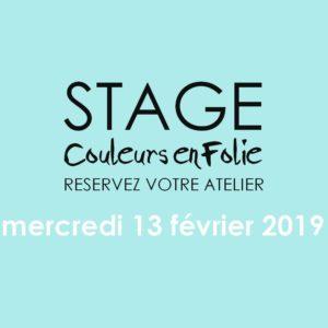 Stage vacances le 13 février 2019 atelier scrap scrapbooking home-deco couleurs-en-folie isabelle-lafolie lille marcq-en-baroeul stage vacances 2019 diy