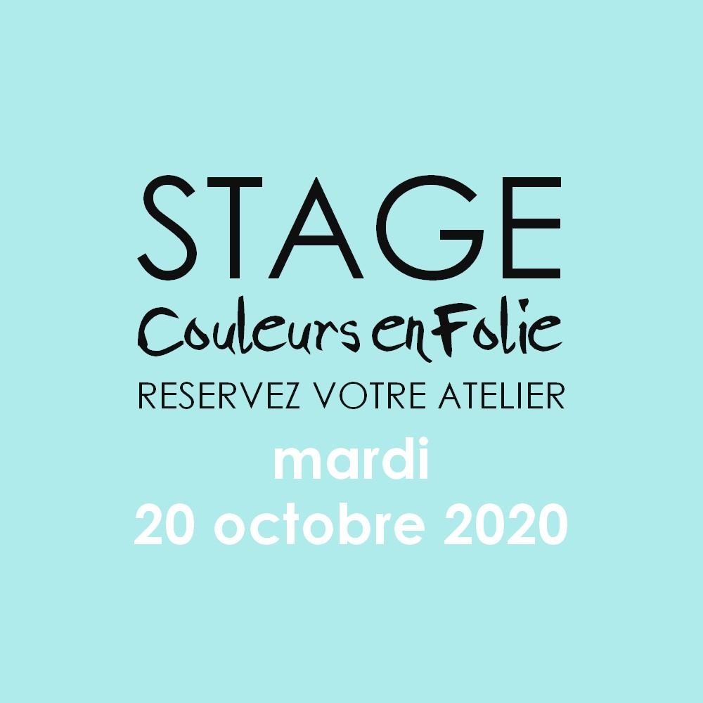 stage vacances le 20 octobre 2020 scrapbooking mini-album coffret bébé couleurs-en-folie isabelle-lafolie atelier tampons
