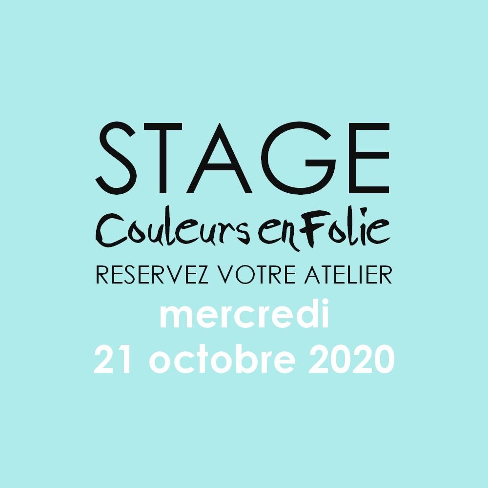 stage vacances le 21 octobre 2020 scrapbooking mini-album coffret bébé couleurs-en-folie isabelle-lafolie atelier tampons