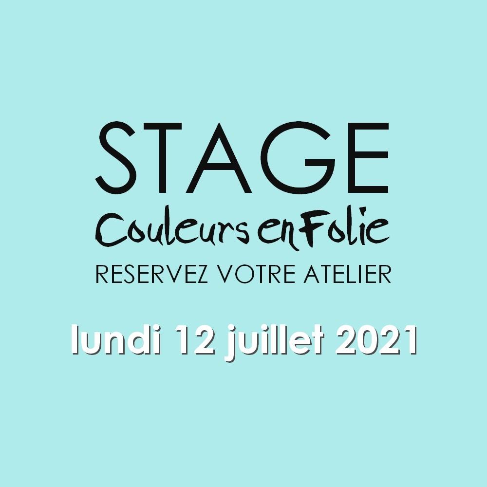stage vacances le 12 juillet 2021 scrap scrapbooking scrapbook mini-album atelier stage couleurs-en-folie isabelle-lafolie lille marcq-en-baroeul